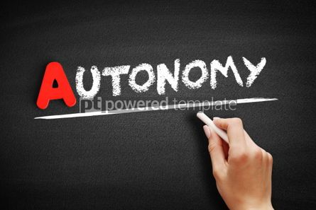 Business: Autonomy text on blackboard #00803