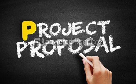 Business: Project proposal text on blackboard #00870