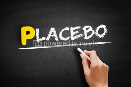Business: Placebo text on blackboard #00903
