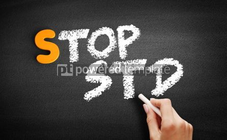 Business: Stop STD Sexually transmitted diseases #00938