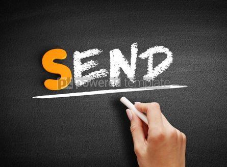 Business: Send text on blackboard #00954