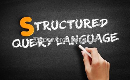 Business: Structured Query Language text on blackboard #00996