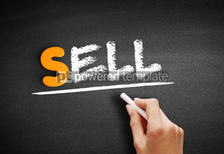 Business: Sell text on blackboard #00999