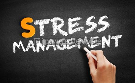 Business: Stress Management text on blackboard #01012