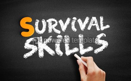 Business: Survival skills text on blackboard #01033