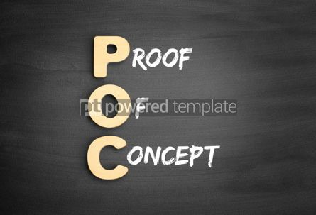 Business: Wooden alphabets building the word POC #01125