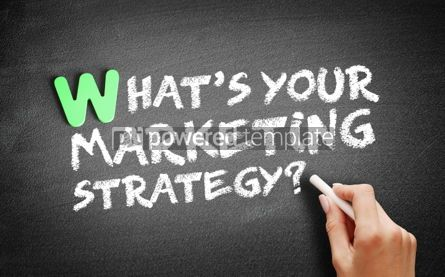 Business: What's Your Marketing Strategy text #01152