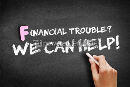 Business: Financial Trouble We can help text #01171
