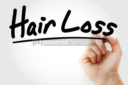 Business: Hair Loss text with marker #01288
