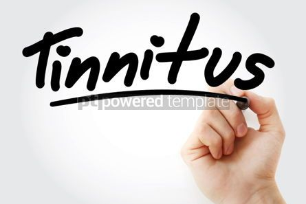 Business: Tinnitus text with marker #01291
