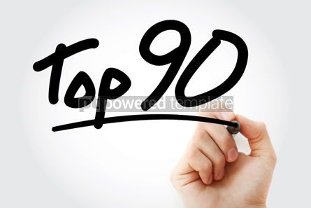 Business: Top 90 text with marker #01304