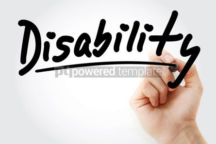 Business: Disability text with marker #01316