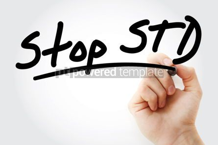 Business: Stop STD Sexually transmitted diseases #01323