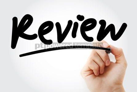 Business: Review text with marker #01340