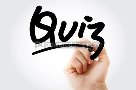 Business: Quiz text with marker #01342