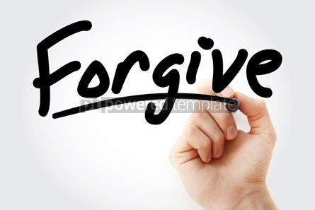 Business: Forgive text with marker #01345