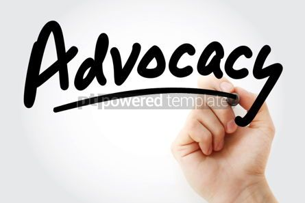 Business: Advocacy text with marker #01354