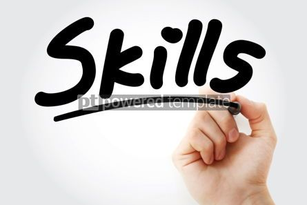 Business: Skills text with marker #01355