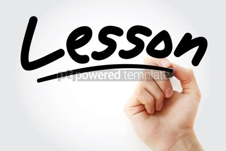 Business: Lesson text with marker #01362