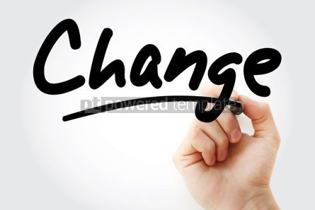 Business: Change text with marker #01382