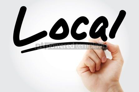 Business: Local text with marker #01388
