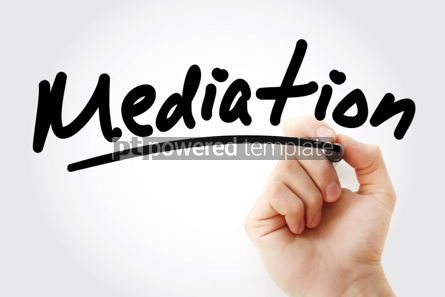 Business: Mediation text with marker #01390