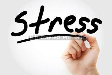 Business: Stress text with marker #01397