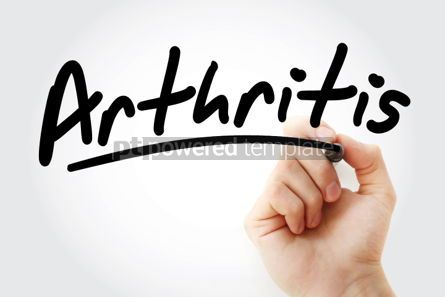 Business: Arthritis text with marker #01398