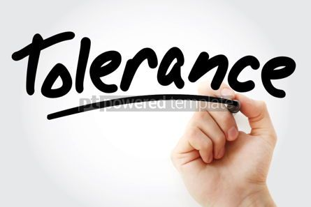 Business: Tolerance text with marker #01406