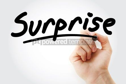 Business: Surprise text with marker #01450