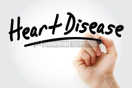 Business: Heart Disease text with marker #01463