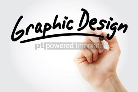 Business: Graphic Design text with marker #01476