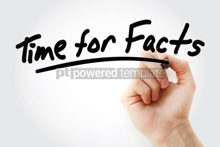 Business: Time for Facts text with marker #01477