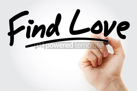 Business: Find Love text with marker #01539