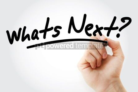 Business: Hand writing Whats Next with marker #01591