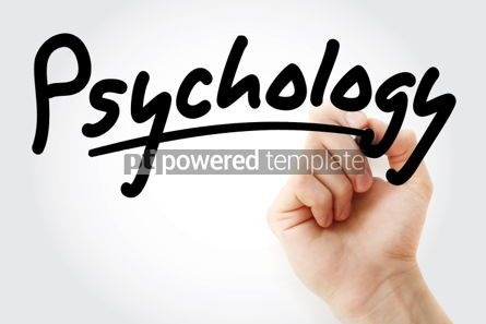 Business: Hand writing Psychology with marker #01594