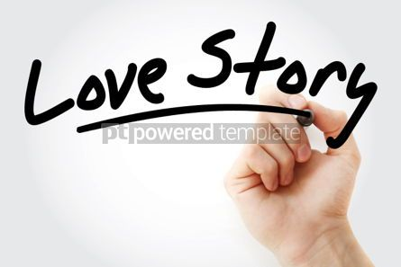 Business: Hand writing Love Story with marker #01611