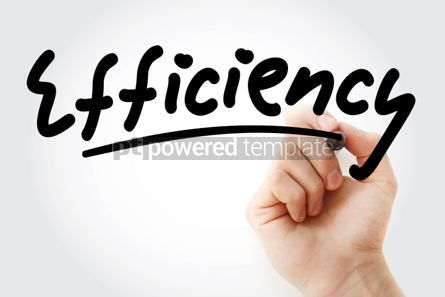 Business: Hand writing Efficiency with marker #01647