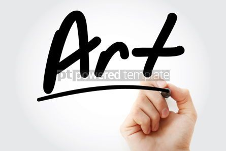 Business: Hand writing Art with marker #01673