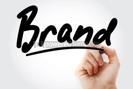 Business: Foto - marca de mão escrita com marcador #01696