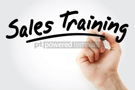 Business: Hand writing Sales Training with marker #01713