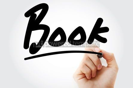 Business: Hand writing Book with marker #01749