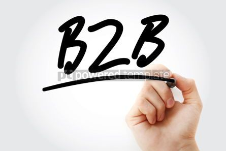 Business: Business To Business with marker #01759