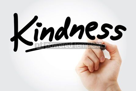 Business: Hand writing Kindness with marker #01799