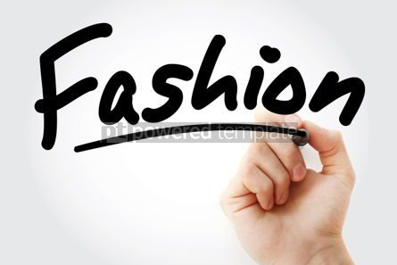 Business: Hand writing FASHION with marker #01800