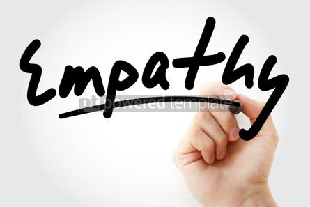 Business: Hand writing Empathy with marker #01821