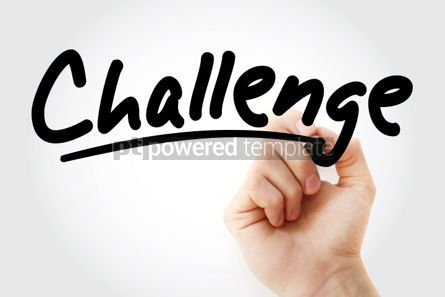 Business: Hand writing Challenge with marker #01822