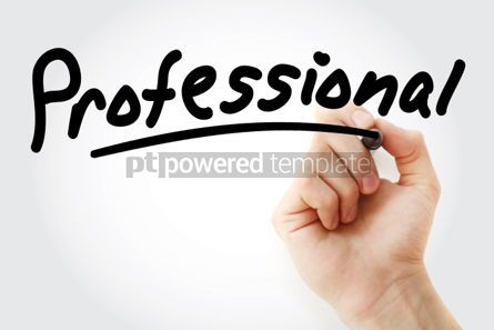 Business: Hand writing Professional with marker #01836