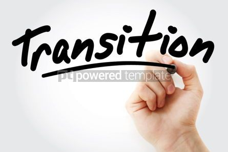 Business: Hand writing Transition with marker #01843