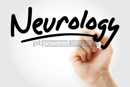 Business: Hand writing Neurology with marker #01883